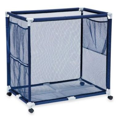 These Mesh Pool Toy Storage Bins Are Large Enough To Hold Everything From  Pool Noodles To Inflated Large Rafts. Casters Allow You To Roll Them Arouu2026