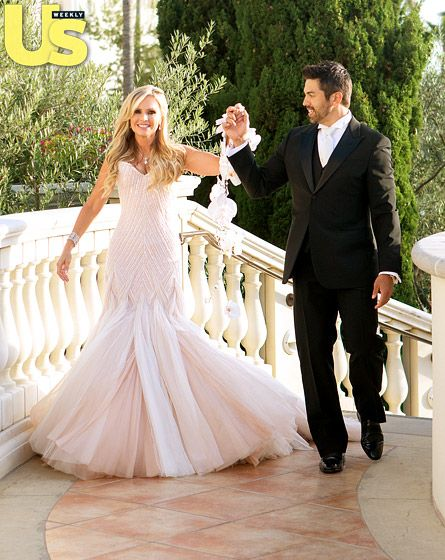 Tamra Barney and Eddie Judge married in a jaw-droppingly gorgeous ceremony at the St. Regis Monarch Beach in Dana Point, Calif. on June 15, 2013. The nuptials will be featured on Bravo's Tamra's OC Wedding, premiering Sept. 2.