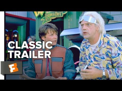 Back to the Future Part 2 Official Trailer #1 - Michael J. Fox, Christopher Lloyd Movie (1989) HD - YouTube