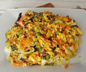Ryż z chińskimi warzywami i jajkiem – prosty i szybki obiad. | Light life, czyli kuchnia diabetyka