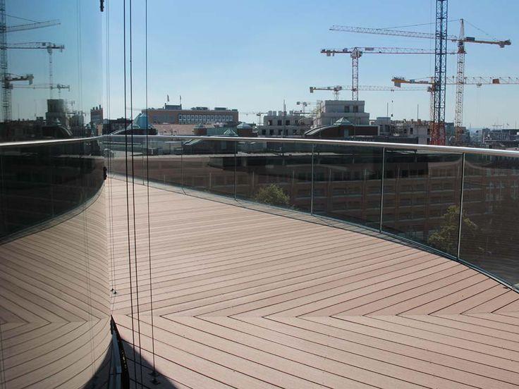 13 besten WPC Terrassendielen verlegen   WPC Unterbau Bilder auf - beispiel mehrstufige holzterrasse
