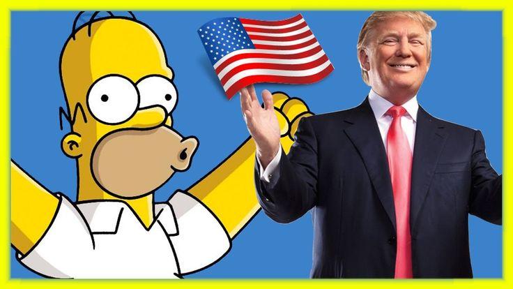 ✦ The Simpsons previu Donald Trump como Presidente dos EUA