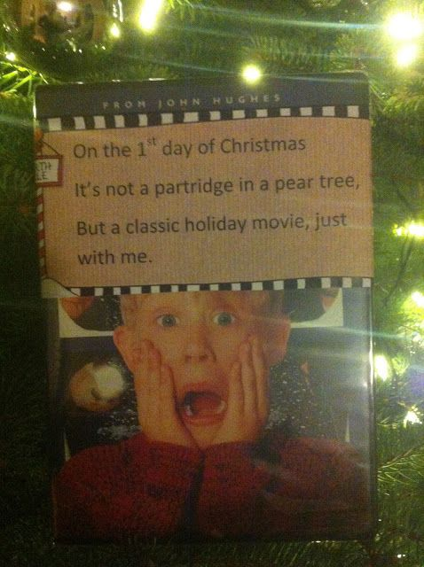 A new take on the 12 Days of Christmas for the Hubby!! Cute ideas! :) Is it Christmas time yet?!