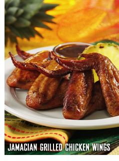 Bahama Breeze Jamaican Grilled Chicken Wings