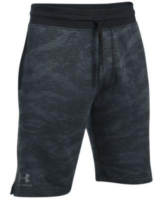 UNDER ARMOUR Under Armour Men'S Camo Fleece Sweat Shorts. #underarmour #cloth # activewear