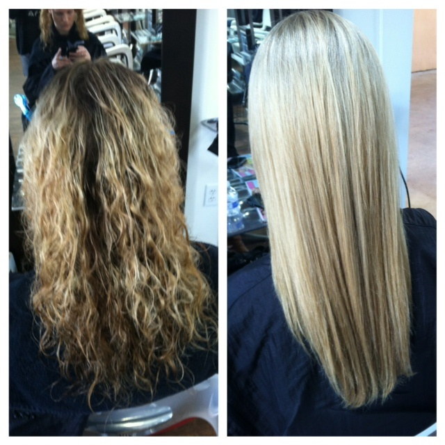 Brazilian Blowout before and after | Hair Style ...