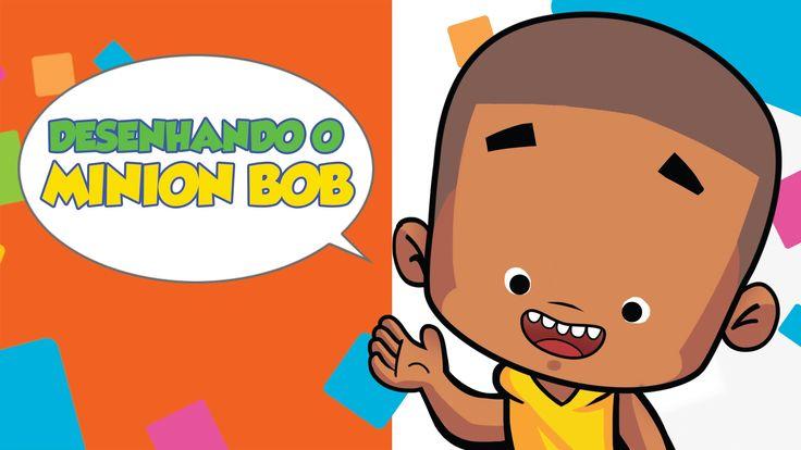 Como desenhar Minion Bob - How to draw Minion Bob