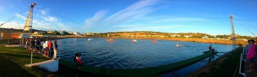 Cable wake board park, Wake Salinas Lagos Portugal #ctrlwake #inctrl