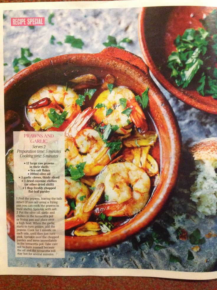 Prawns and Garlic