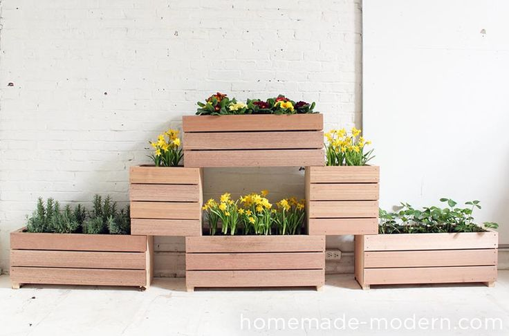 Homemade Modern Diy Stackable Planters Options Diy 400 x 300