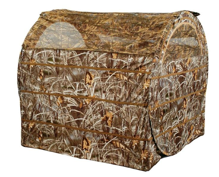 Dove Deer Ground Hay Bale Field Hunting Blind Ameristep Bail Out Hayhouse  #AMERISTEP