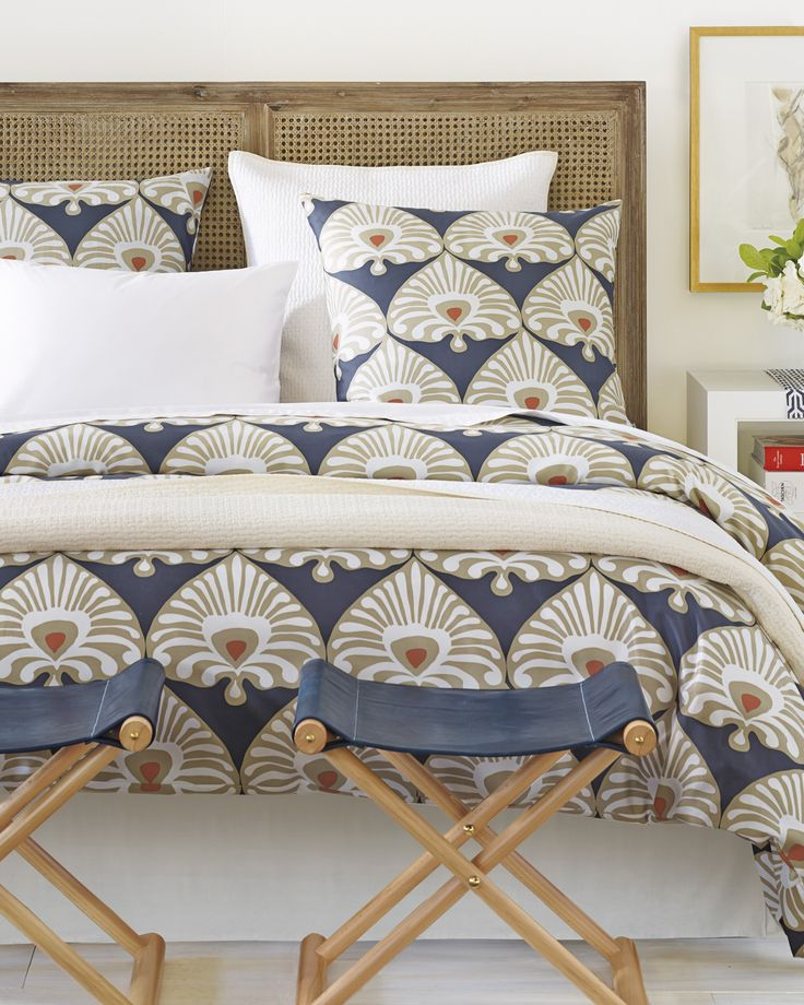 Palmetto Duvet Cover Guest Bedrooms End Of Bed Seating Duvet Covers