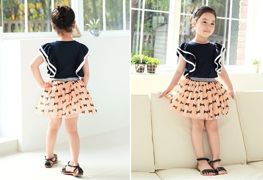 Korea children's No.1 Shopping Mall. EASY & LOVELY STYLE [COOKIE HOUSE] Double Frill Blouse / Size : 7 ~ 17 / Price : 12.59 USD #kidstops #kidsblouse #blouse #koreakids #kids #kidsfashion #adorable #COOKIEHOUSE #OOTD