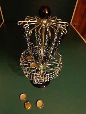 Handmade Mini Disc Golf Bottle Cap Basket                                                                                                                                                      More