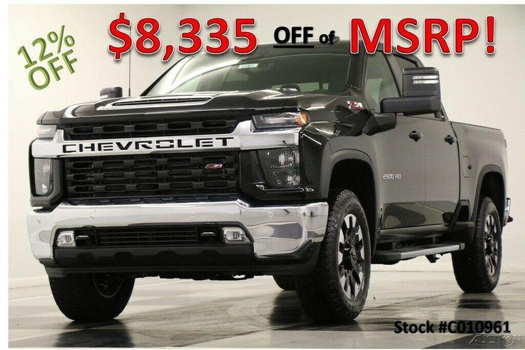 2020 Chevrolet Silverado 2500 HD MSRP$67545 4X4 LT Diesel ...