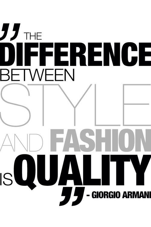 Fashion quote