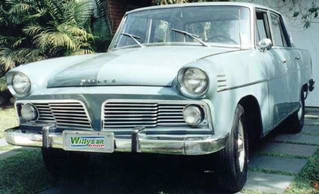Aero-Willys. Meu avô teve um.