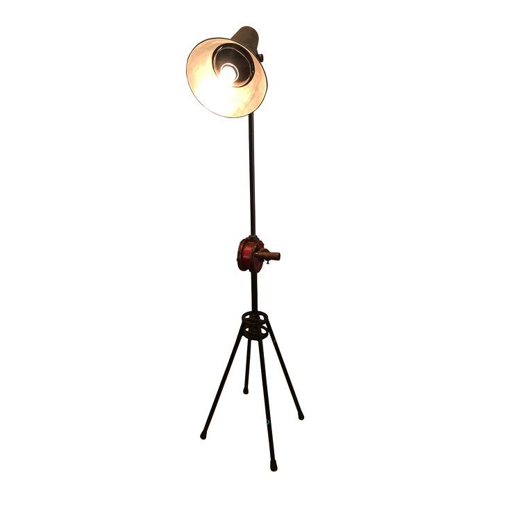Standing Lamp D - Metal. Style up your personal spaces with this handsome Standing Lamp.