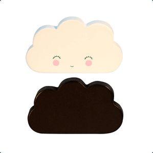 De sødeste knager formet som små skyer fra A little lovely Company.