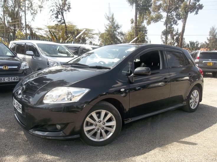 The best prices on new and used cars in Kenya 2008 Toyota Auris Ksh 1,129,000/- Click the link for details http://www.nairobicars.com/views/Toyota_Auris_Hatchback_2008-791/