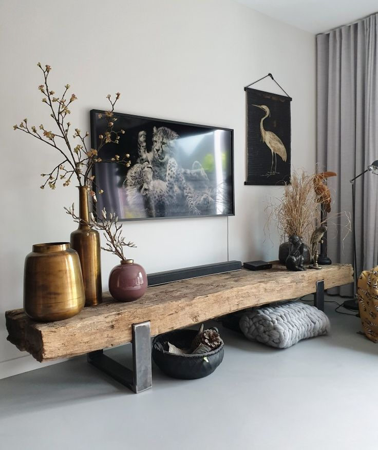 Primo Tv Meubel.Pin By Anna Demrose On Wood Coat Rack Wall In 2020 Interior