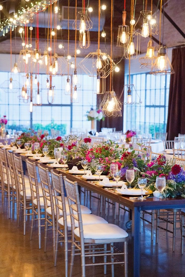 Photo: Sarah Kate - wedding reception idea