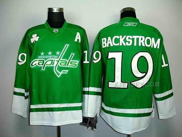 http://www.xjersey.com/capitals-19-backstrom-green-stpatricks-day-jerseys.html CAPITALS 19 BACKSTROM GREEN ST.PATRICKS DAY JERSEYS Only $46.00 , Free Shipping!