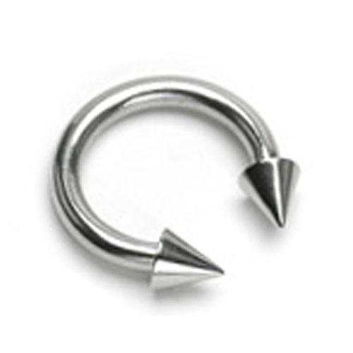 Piercing punt ring