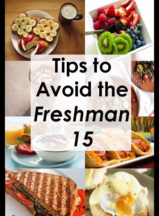 Tips to Avoid the Freshman 15