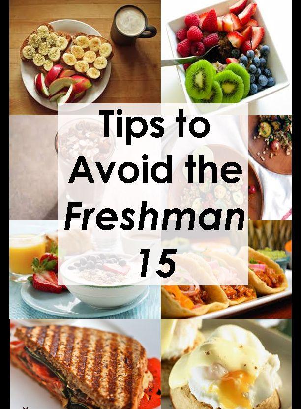 Tips to Avoid the Freshman 15