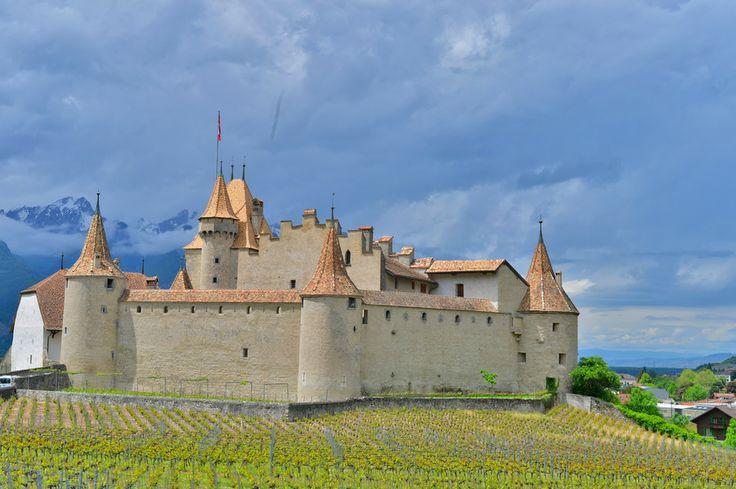 Château d Aigle in Switzerland