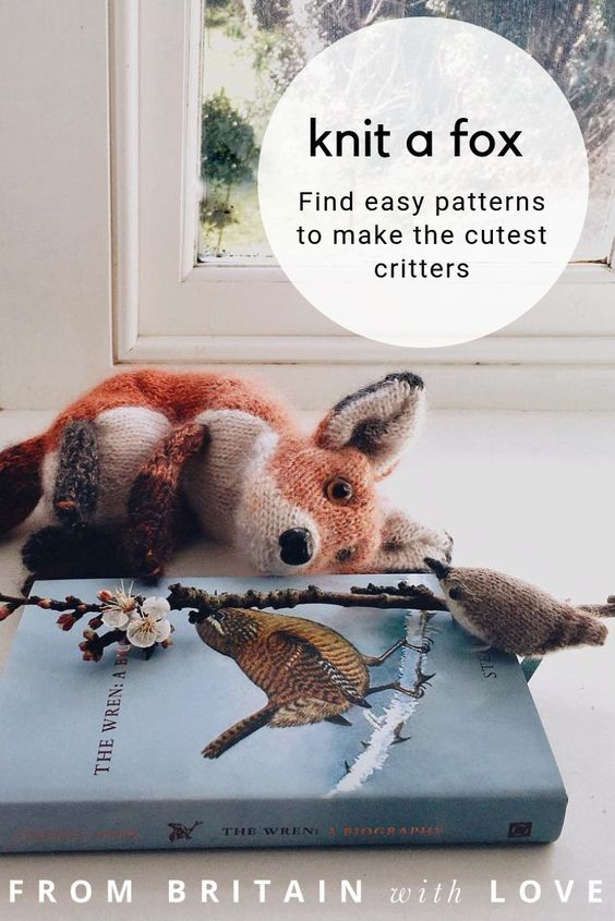 Dot Pebbles rabbit knitting patterns & woodland animals