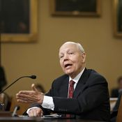 IRS Commissioner John Koskinen testifies Friday on Capitol Hill. Koskinen was asked to explain the disappearance of emails that could relate to a probe into the targeting of Tea Party groups.