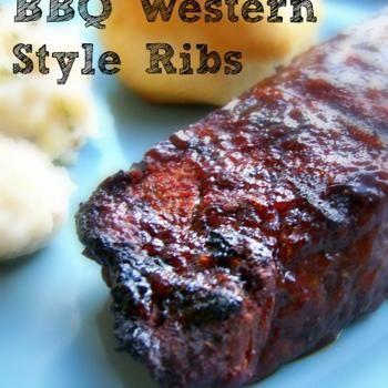 Bbq Western Style Ribs