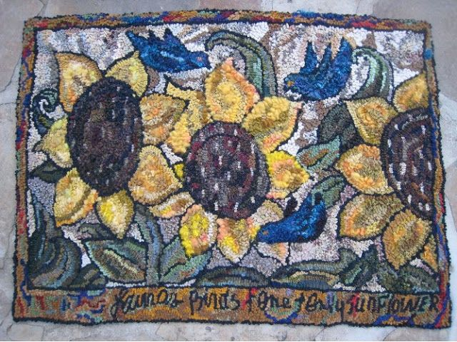 Beehive Rugs Gallery Flowers In The Garden Pinterest