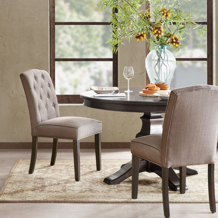 Entry Photo Credit Inspire Me Home Decor On Instagram: 17 Best Ideas About Tufted Dining Chairs On Pinterest