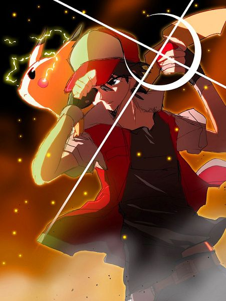 pokespe red - red-pokemon Photo