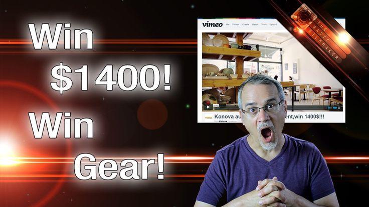 Win $1400 in Konova Gear! July 28 Deadline! The Basic Filmmaker Ep 96