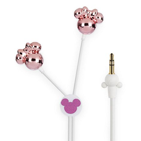 Mickey Mouse Earbuds - Pink
