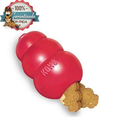 ¿Tu perro muerde todo? - Juega y Entretiene a tú perro con KONG CLASSIC, el juguete mas recomendado por entrenadores de perros y veterinarios.  #dog #toy #perro tienda de mascotas, juguetes para perro, www.LaTiendaDeFrida.com