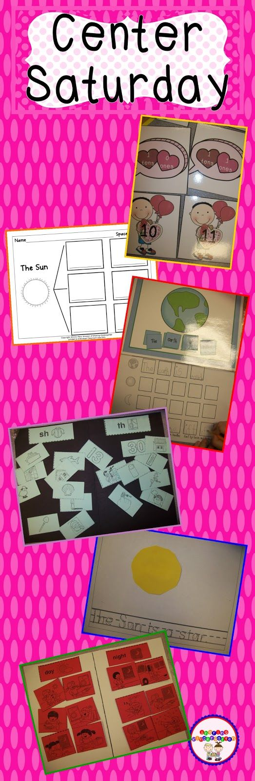 A peek at my weekly word centers. Grab some ideas to make hands on learning FUN for your students.