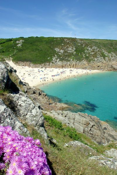 porthcurno cornwall..I love this beach..happy carefree memories