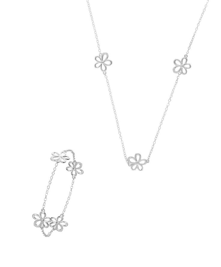 An Ideal Christmas gift -the Daisy Bracelet and Necklet Offer www.jennaclifford.com