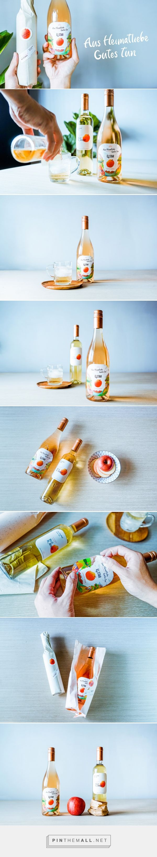 Aus Heimatliebe Gutes tun Apple Juice Tender - Packaging of the World - Creative Package Design Gallery - http://www.packagingoftheworld.com/2017/03/aus-heimatliebe-gutes-tun-apple-juice.html