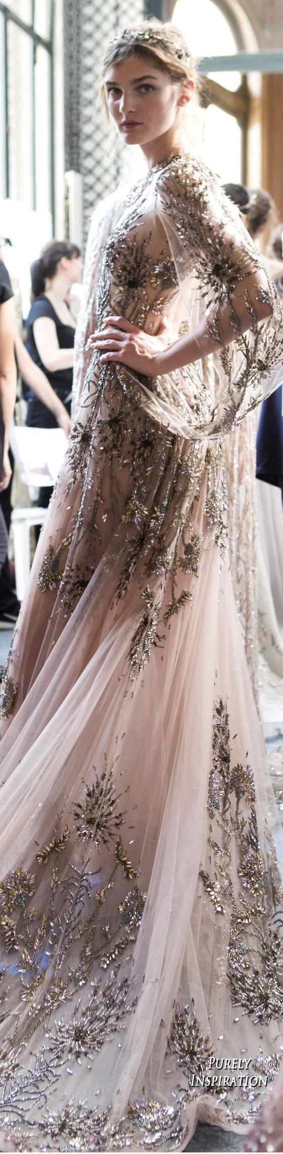 Zuhair Murad Fall 2017 Haute Couture | Purely Inspiration