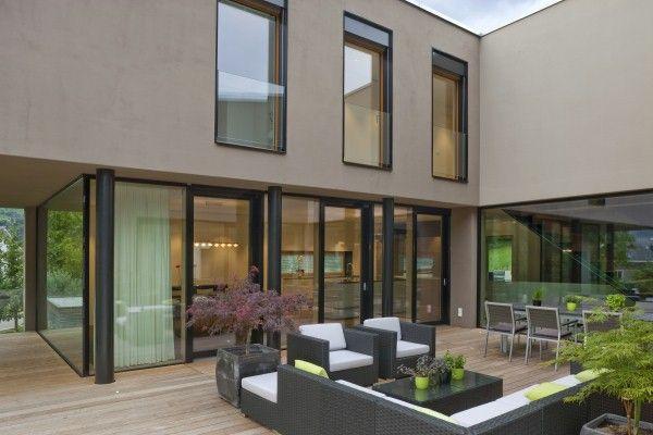 Fassadenfarbe einfamilienhaus  Einfamilienhaus | Fassade | Pinterest