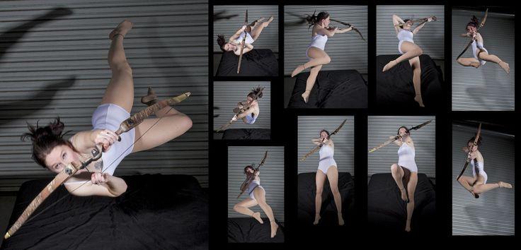 Движение девушки сверху фото