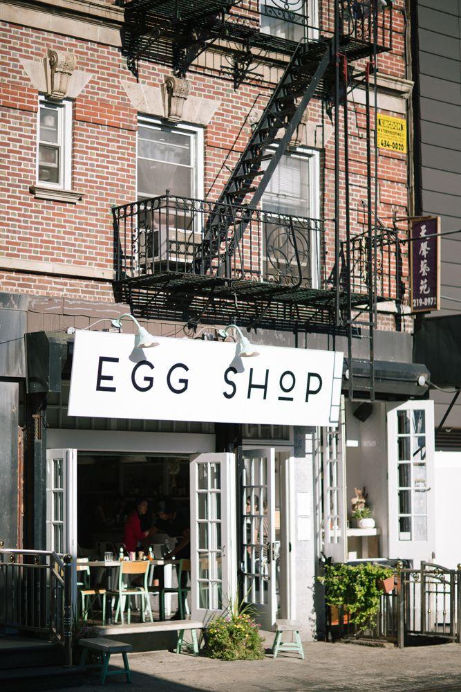Breakfast in New York-EGG SHOP  http://www.thelondoner.me/2015/09/egg-shop-new-york.html#more-30923