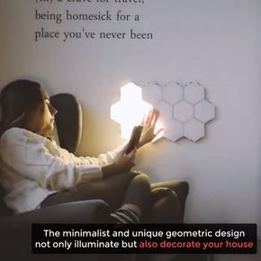 Modular Touch Lights in 2020 | Cool things to buy, Bedroom ...