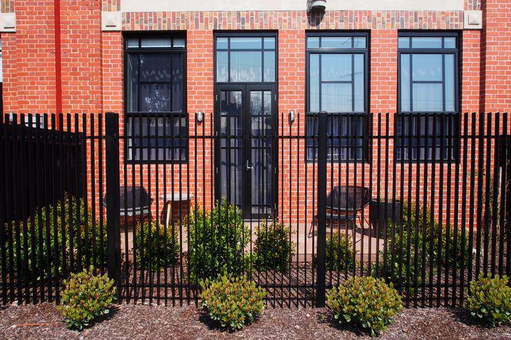 Aluminium City Fence